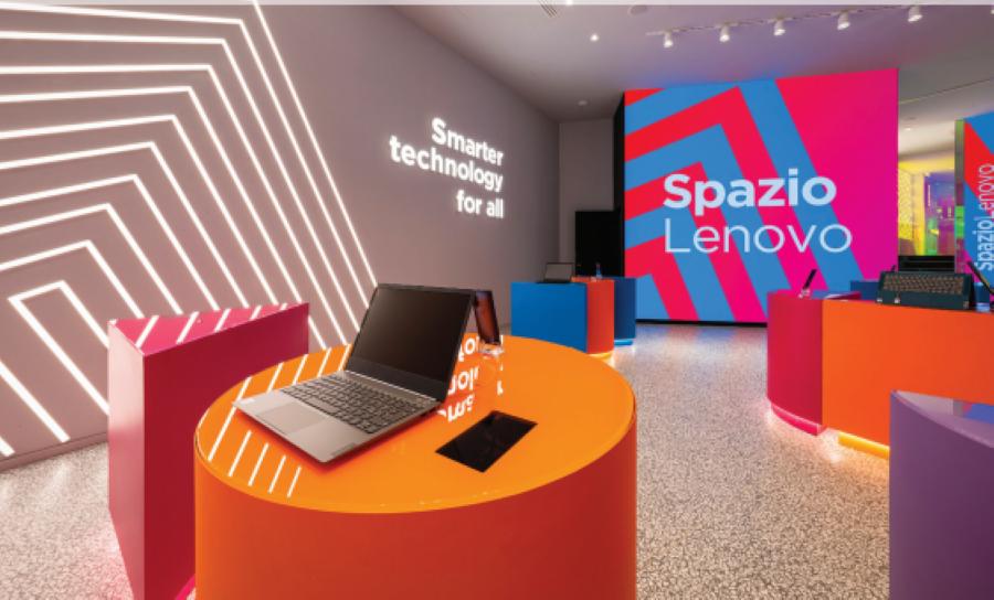 Le innovative soluzioni per vetri 3M nel nuovissimo Spazio Lenovo a Milano